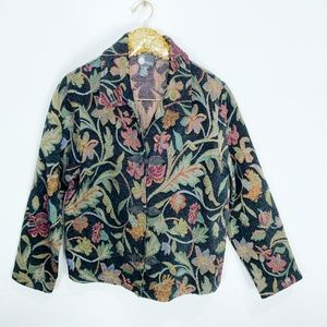 First Option Floral Tapestry Jacket